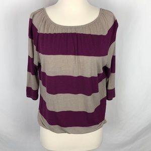 Loft striped blouse